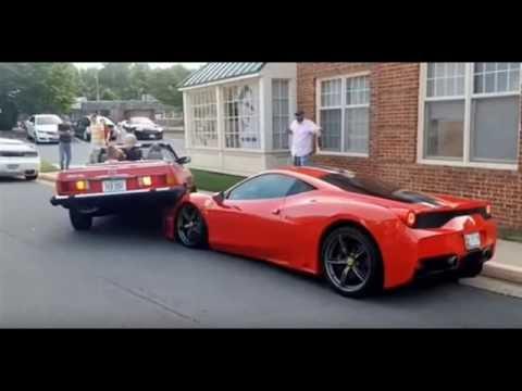 Ferrari 458 Speciale Accident In Virginia Live Youtube