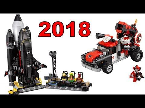 LEGO Batman Movie 2018 наборы новинки Мнение