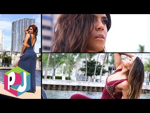 ¡Calor!: la vaporosa sesión de fotos de tres reinas para Premios Juventud