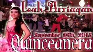 Leah Arriaga Quinceanera Surprise Dance | Baile Sorpresa | #rhythmwriterz