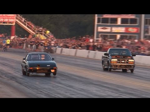 Street Outlaws Turbo Rotary Mazda RX-7 – OKC NoPrep