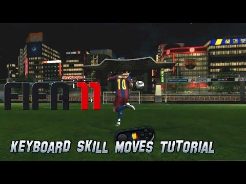 FIFA 11 Keyboard Skill Moves Tutorial
