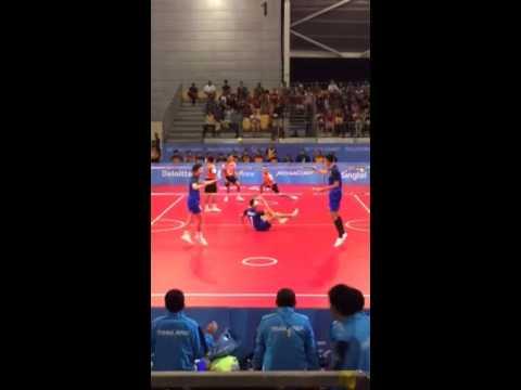 ตะกร้อทีมชาย ทีมเอ ไทย-มาเลเซีย ศึกซีเกมส์ครั้งที่28