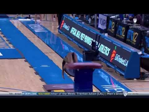 Nia Dennis Vault UCLA vs Oregon State 2021 9.925