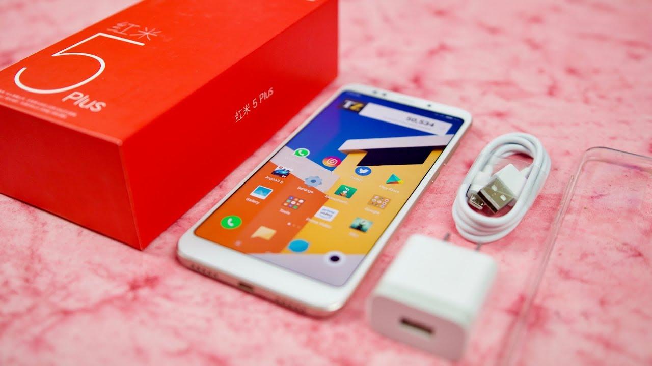 Xiaomi Redmi Note 5 mẫu smartphone tốt nhất tầm giá dưới 5 triệu