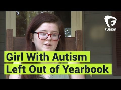 Girl With Autism Left Out Of HS Yearbook