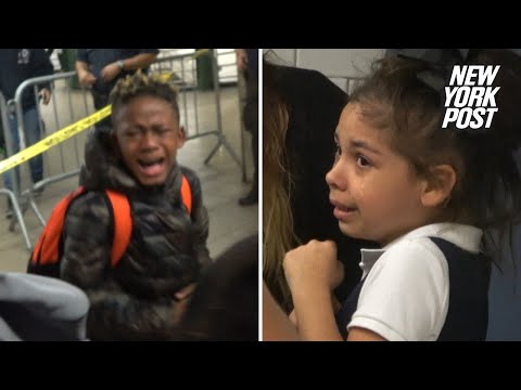 Kids are freaking out over MTA's 'Haunted Subway'