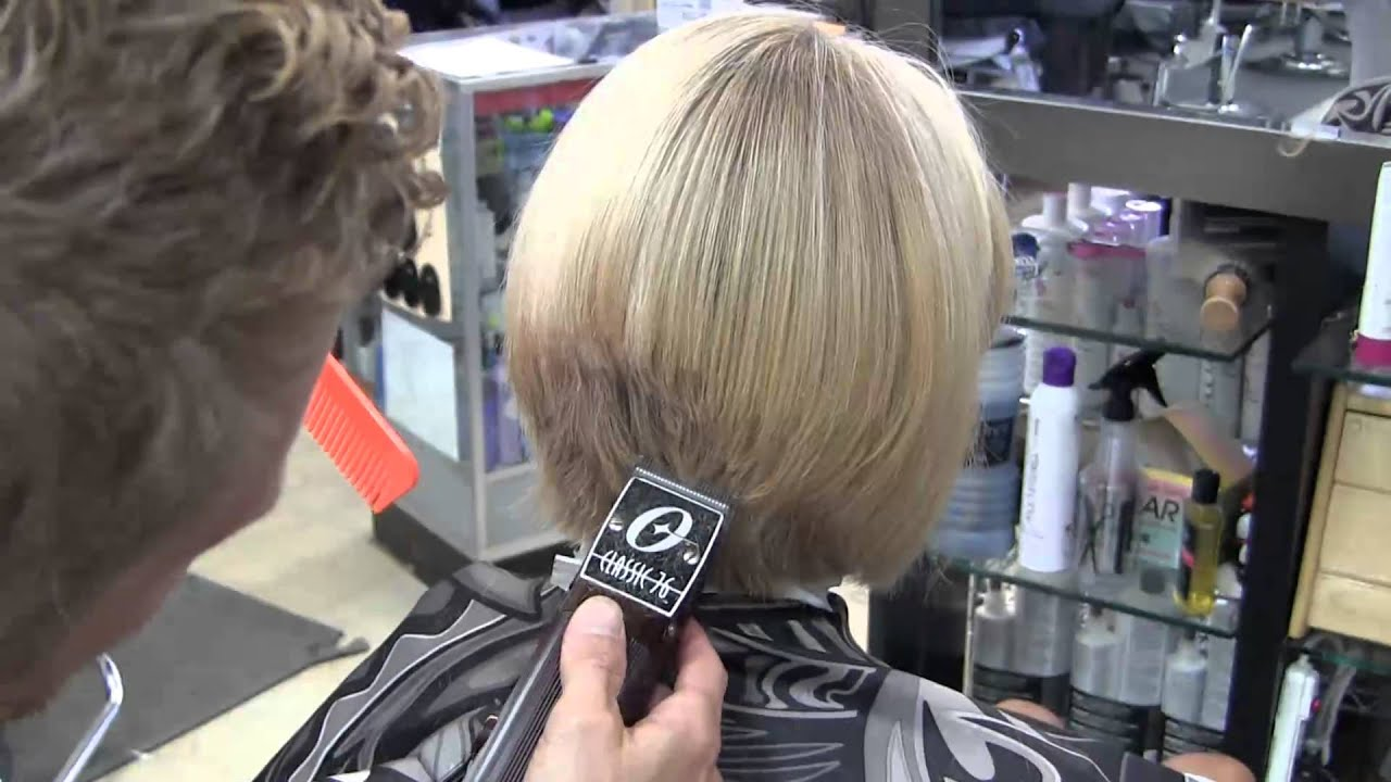 Short Sexy Blonde Womens Clipper Haircut Video Hd - Youtube-5202