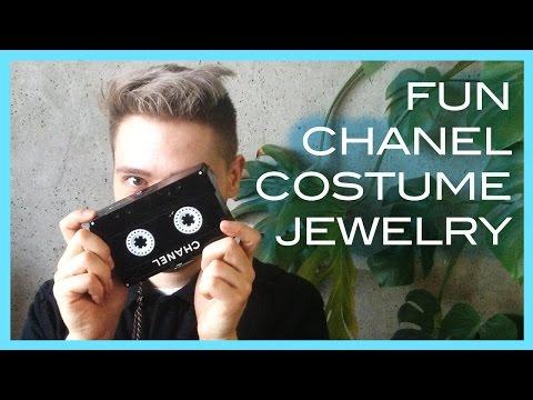 fun CHANEL costume jewelry