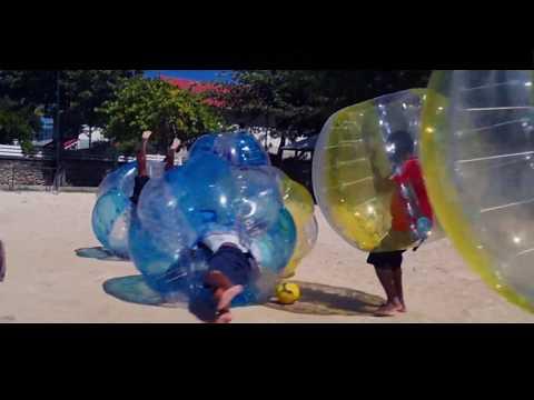 Caribbean Bubble Activité Bubble Foot Guadeloupe