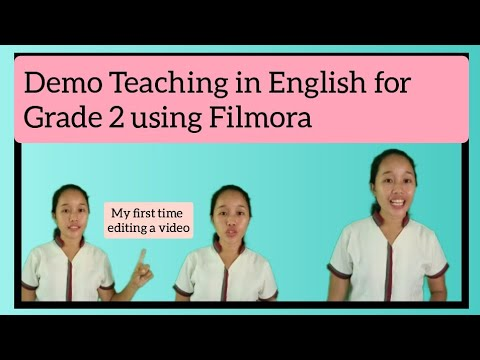 Demo Teaching in English for Grade 2