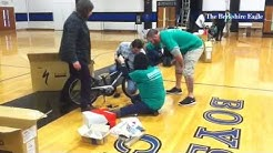 BerkshireBank employees build bikes for kids at the Boys and Girls Club in Pittsfield. @berkshireeag