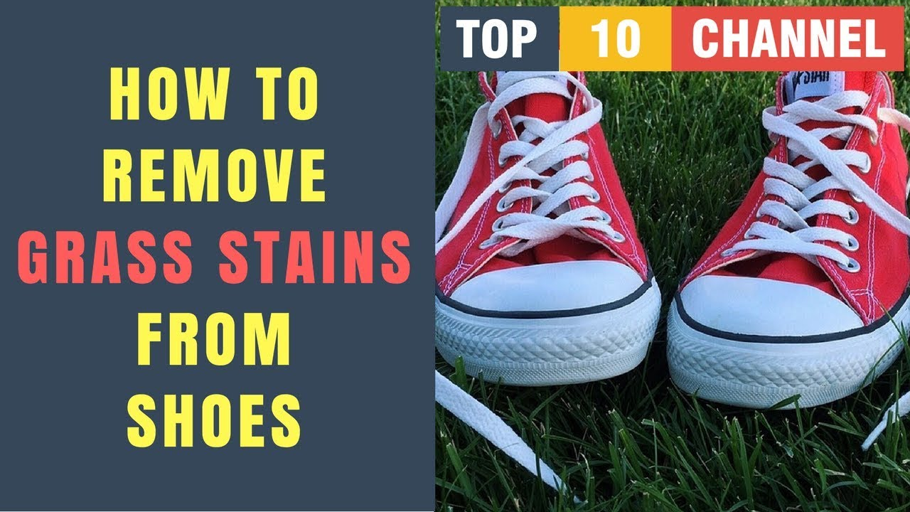 Remove Grass Stains From Canvas Shoes