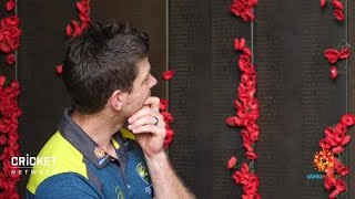 Emotional Australian War Memorial visit