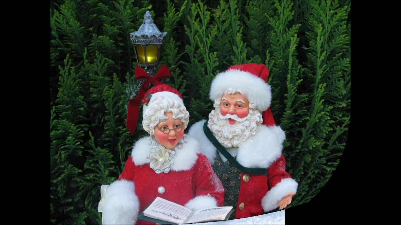 Possible dreams mr and mrs santa claus caroling youtube