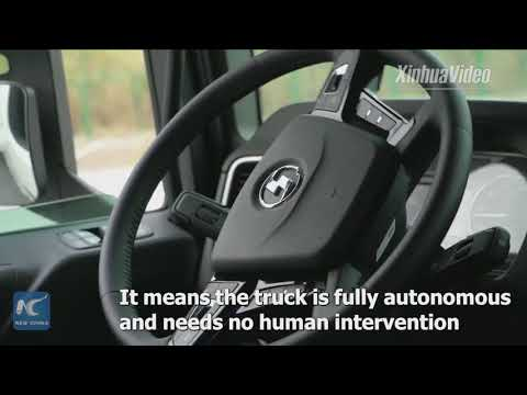Watch China's homemade driverless truck: It's fully autonomous!