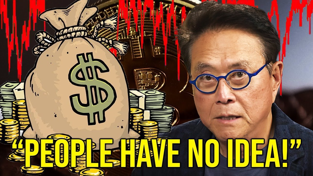 Don't Get Tricked!!! - Robert Kiyosaki   What's Actually Happening with Bitcoin
