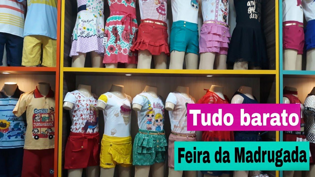 9c84d887606 Roupas baratas da Feira da Madrugada em Fortaleza! - YouTube