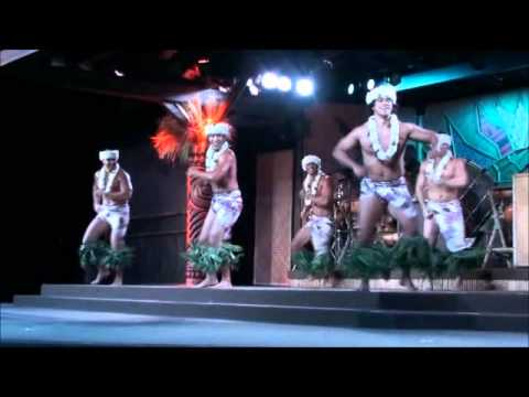 Spirit of Aloha Dinner at Disney's Polynesian Resort, Walt Disney World