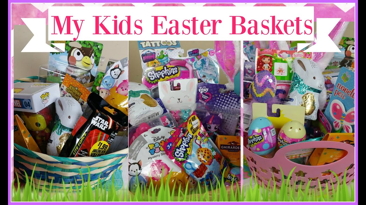 Whats in my kids easter baskets 2016 ages 12 8 and 7 youtube whats in my kids easter baskets 2016 ages 12 8 and 7 negle Images