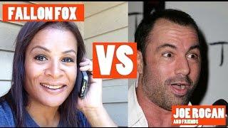 Fallon Fox VS Joe Rogan's bogus mechanical advantages
