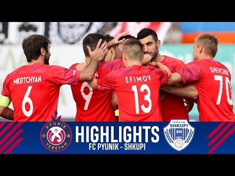 Pyunik - Shkupi 3-3 | Match Highlights