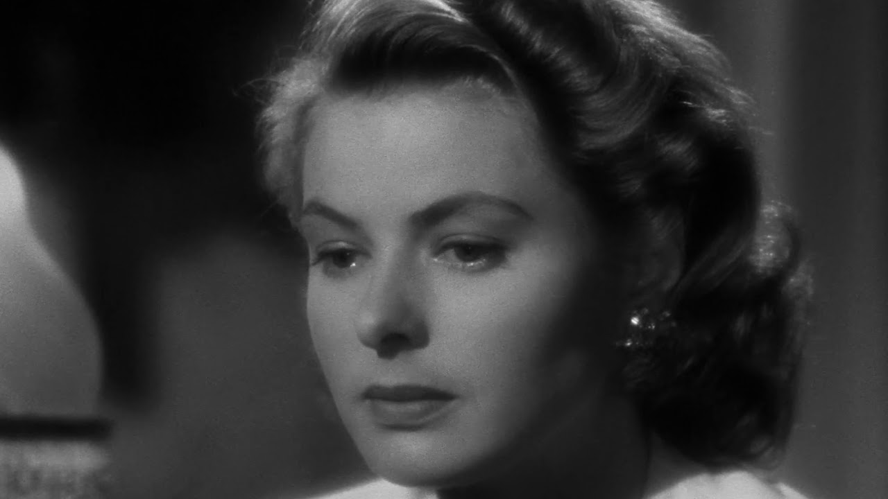 As Time Goes By Full Song Casablanca 42 Humphrey Bogart Ingrid Bergman Classic Romance Youtube
