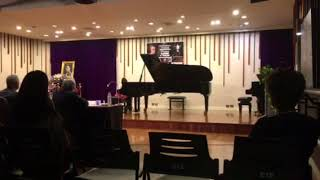 Pimmie (8) 1st Prize Winner -Thailand 8th Mozart International Piano Competition 2018 (Final Round)