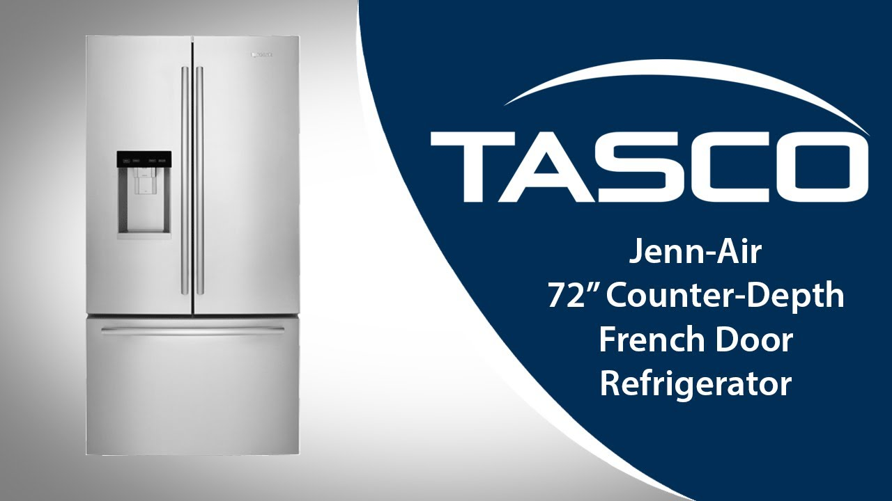 Jenn Air 72 French Door Refrigerator With Obsidian Interior Youtube