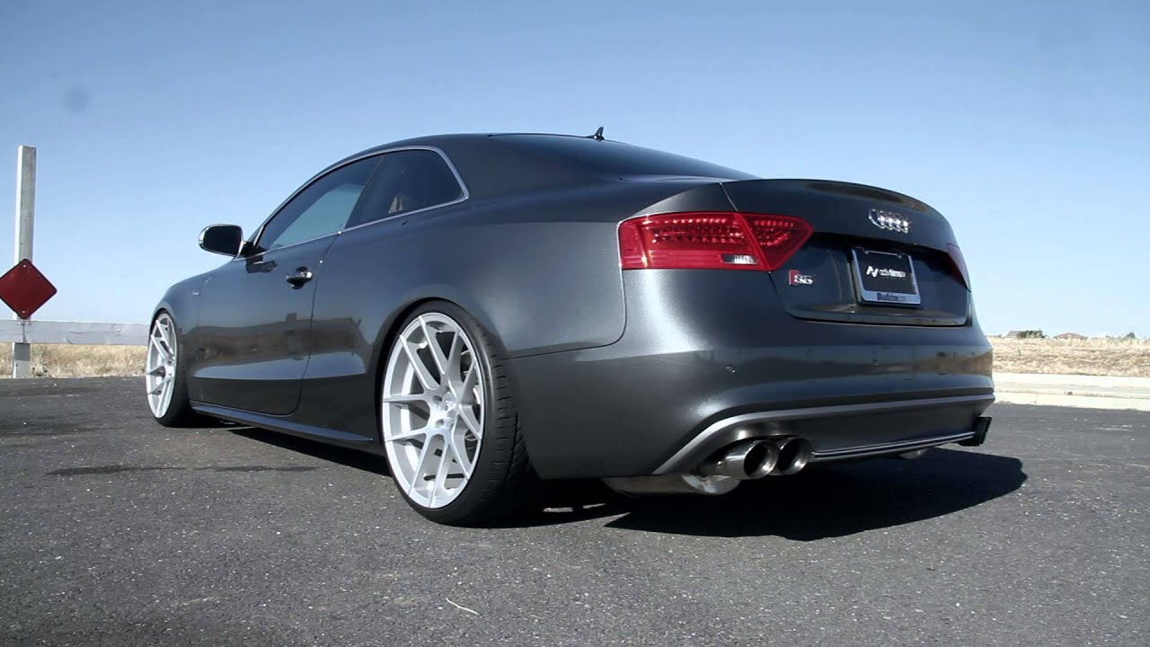 apr rsc exhaust 2013 audi s5 youtube. Black Bedroom Furniture Sets. Home Design Ideas