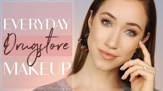 EVERYDAY DRUGSTORE MAKEUP TUTORIAL (Trying NEW Products!) | ALLIE GLINES