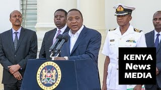 UHURU KENYATTA ON KENYA SOCIAL INCLUSION PROGRAM OF INUA JAMII!!!