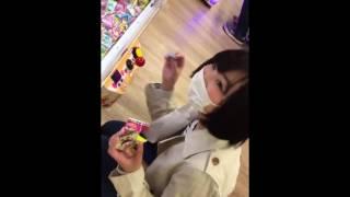 つりビット 杏優ちゃんたまごボーロ動画 170322.