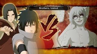 Naruto Storm 3: Sasuke & Itachi Vs Sage Kabuto Eng Dub
