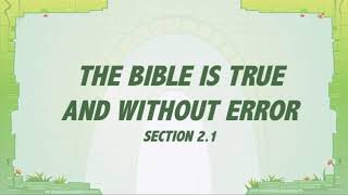 T&T: Grace In Action 2.1 - The Bible is True and Without Error