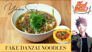 FOOD WARS RECIPE #13  Fake Dan Zai Noodles by Yukihira Soma  Third Plate Episode 3