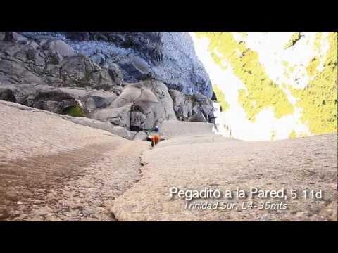 COCHAMÓ, rock climbing.  ACECINE Producciones