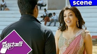 Kajal Meets Vijay and Proposed to Marry - Thuppakki Movie Scenes