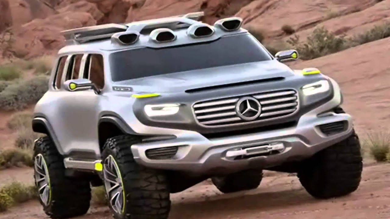 mercedes benz ener g force suv concept car 2012 youtube