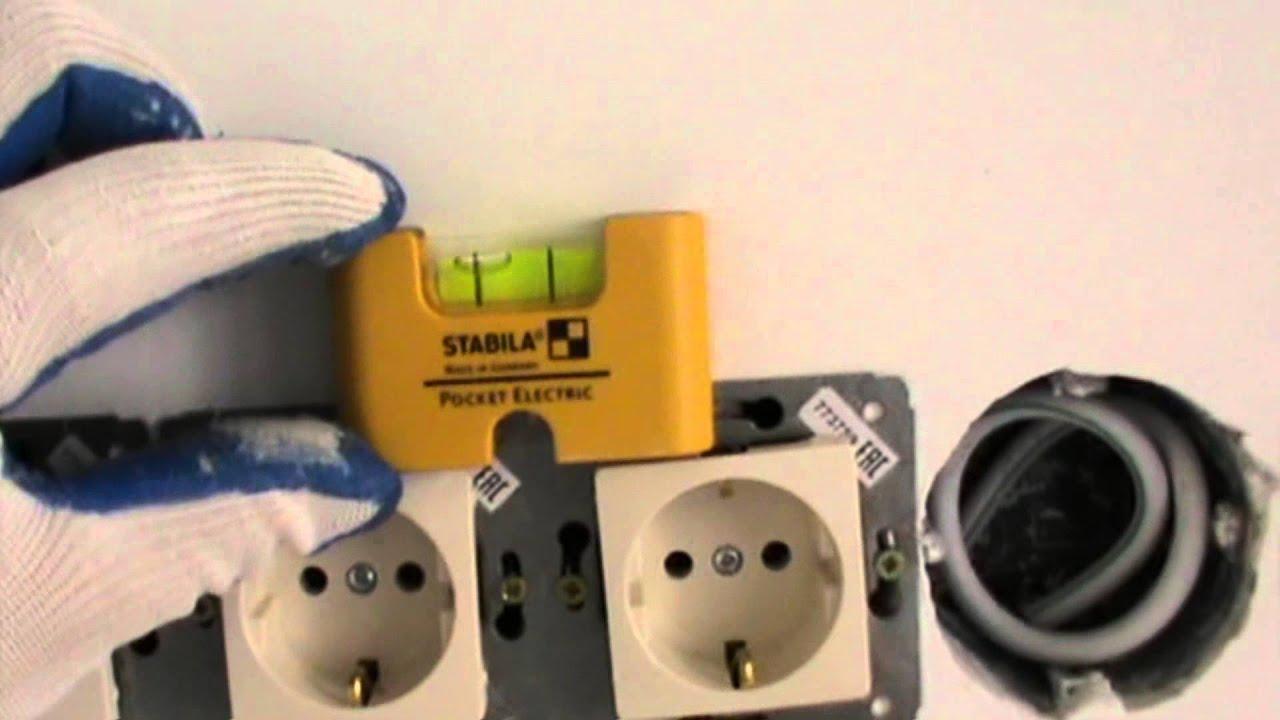 Уровень STABILA Pocket Electric 17775 - YouTube