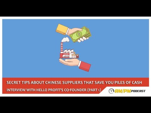 Things You didn't know about your Suppliers. Interview with Hello Profit's co-founder (Pt. 1) – EP62