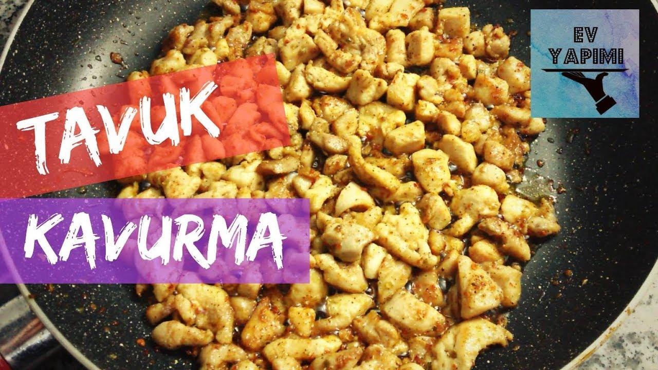 Tavuk Kavurma
