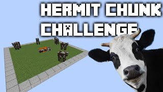 Hermit Chunk Challenge -15- Best Automatic AFK Cooked Meat Farm on YOUTUBE ✔