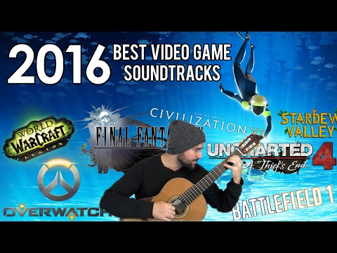 2016 Best Video Game Soundtracks - Classical Guitar Medley