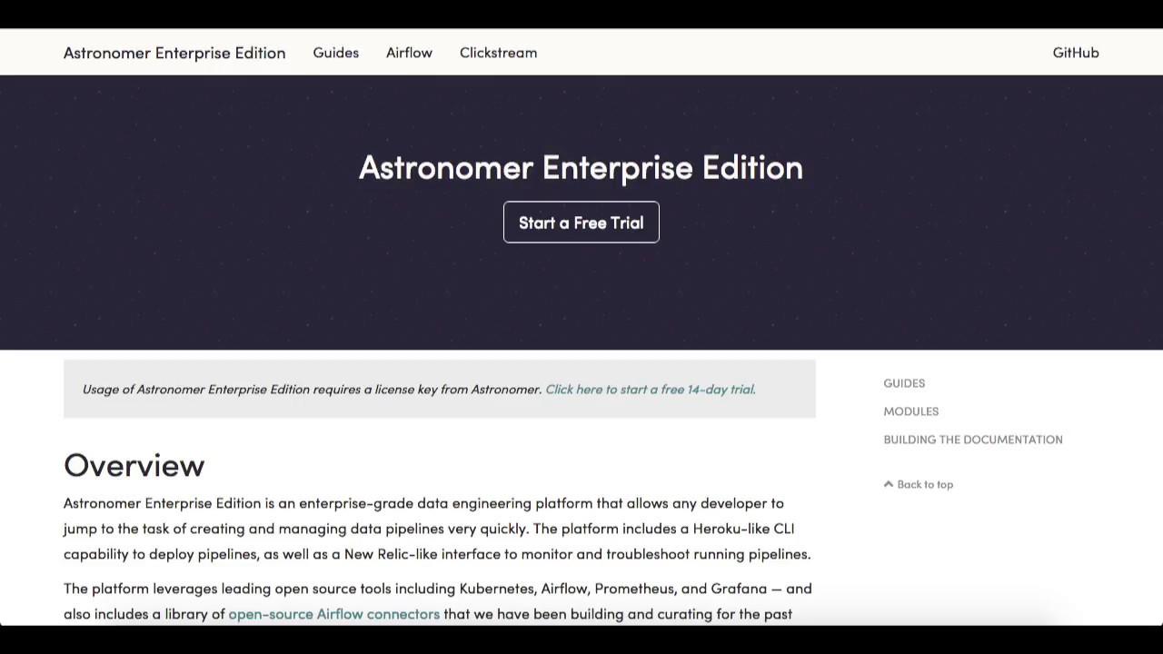 Astronomer Enterprise Edition 0 2 0