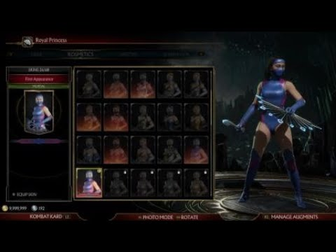 Mortal Kombat 11 How To Unlock Kitana Classic Ninja Skins In The