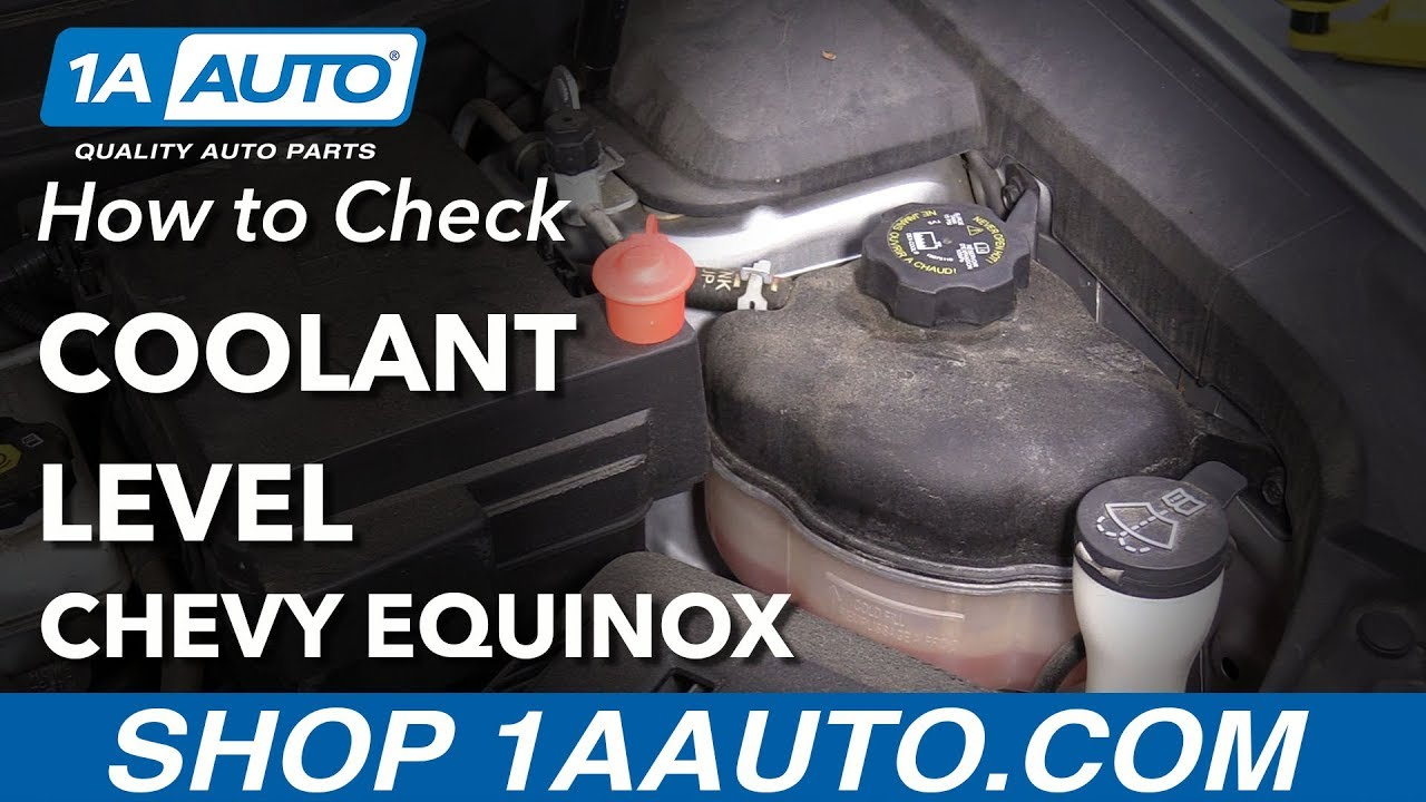 How To Check Antifreeze >> How To Check Coolant Level 10 17 Chevy Equinox