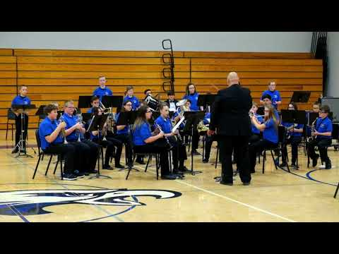 Underwood Middle School Concert Band - 2018 - March 1