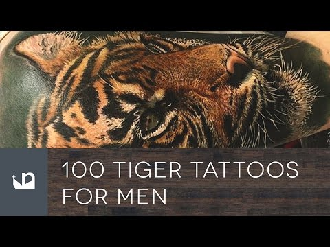 100 Tiger Tattoos For Men