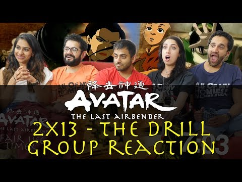 Avatar: The Last Airbender - 2x13 The Drill - Group Reaction